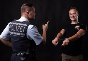 Polizist vs. Comedian