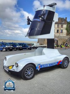 Ein interessantes Polizeifahrzeug aus Frankreich
