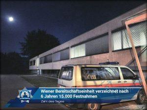 Zahl des Tages: Wiener Bereitschaftseinheit verzeichnet nach 6 Jahren 15.000 Festnahmen