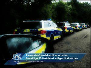 Baden-Württemberg: Personalaufbauziel nicht zu schaffen