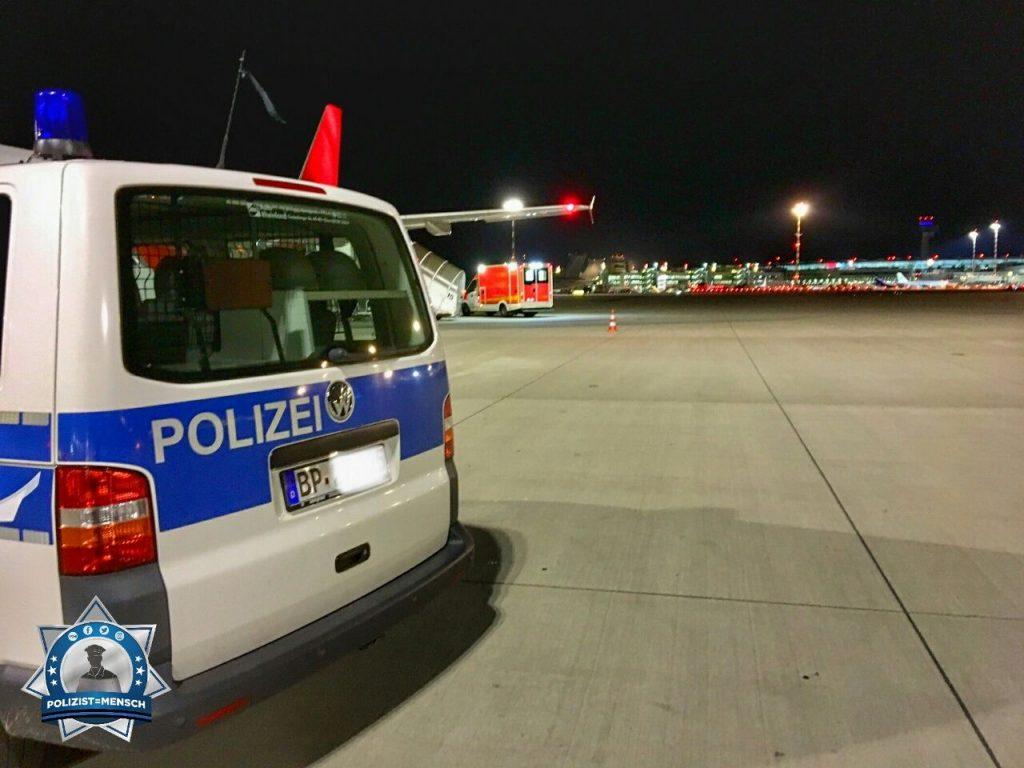 """""""Grüße vom Flughafen Düsseldorf. Wünsche allen eine ruhige Nachtschicht, Tobias!"""""""