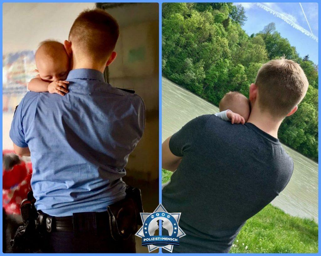 Dank einer Polizistenfrau und Mutter