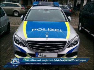 Personalnot und Spardiktat: Polizei Saarland reagiert mit Schließungen und Versetzungen