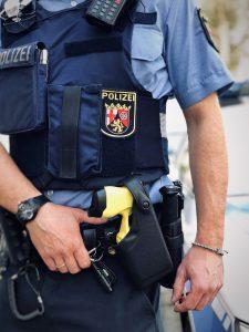 Distanzelektroimpulsgerät: Taser ab sofort in Ludwigshafen im Streifendienst im Einsatz