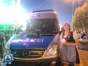 Danke an die Polizisten auf dem Cannstatter Wasen