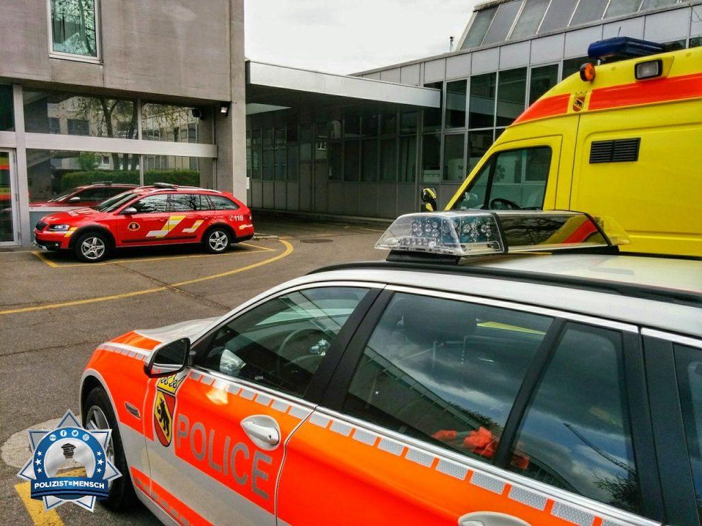 """""""Liebe Grüße von der Kantonspolizei Bern, Laurant"""""""