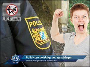 Vom Hilfsangebot zum Widerstand: Polizisten beleidigt und geschlagen
