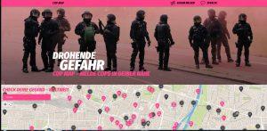 Polizisten als drohende Gefahr dargestellt: CopMap ist Denunziantentum und Sicherheitsrisiko