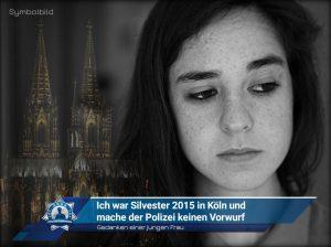 Gedanken einer jungen Frau: Ich war Silvester 2015 in Köln und mache der Polizei keinen Vorwurf