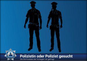 Die Sichtweise der Kollegen ist gefragt: Polizistin oder Polizist gesucht