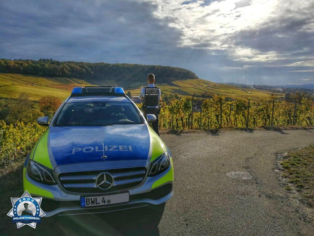 """""""Hallo Polizist=Mensch Team, wir genießen hier noch die letzten Sonnenstrahlen dieses Jahres. Gruß aus dem schönen Baden-Württemberg!"""""""
