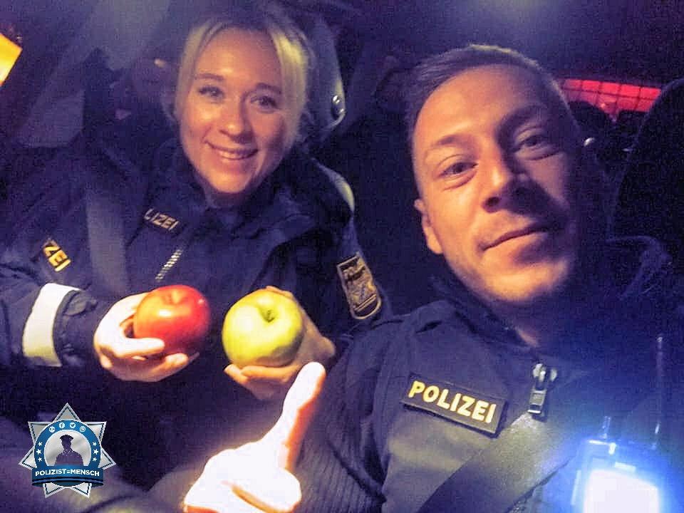 Die positive Geschichte: Da, zwei Äpfel ihr Lieben...