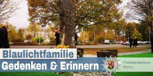 Für die Erinnerung und wider das Vergessen: Polizei Rheinland-Pfalz weiht Gedenkstätte für im Dienst verstorbene Polizisten ein