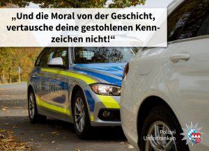 Dümmer als die Polizei erlaubt: Unterschiedliche Kennzeichen und viele weitere Ungereimtheiten