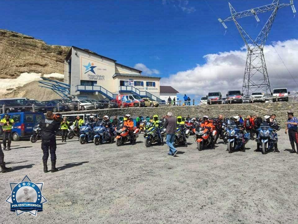Motorradtreffen der IPA in Südtirol