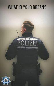 Mein Traum ist wahr geworden: Teil der Polizeifamilie zu werden