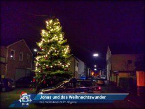 Der Polizeibericht im Original: Jonas und das Weihnachtswunder