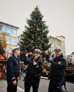 Einsätze auf dem Weihnachtsmarkt