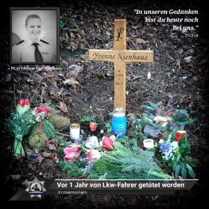 In memoriam: Vor 1 Jahr von Lkw-Fahrer getötet worden
