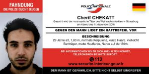 Attentat von Straßburg: Polizei fahndet beidseits der Grenze nach dem flüchtigen Täter