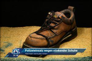 Nachbar vermutet Toten: Polizeieinsatz wegen stinkender Schuhe