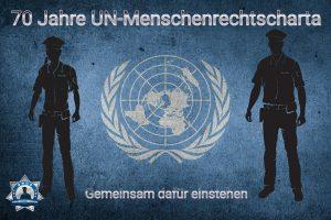 Gemeinsam dafür einstehen: 70 Jahre UN-Menschenrechtscharta