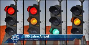 Happy Birthday: 150 Jahre Ampel