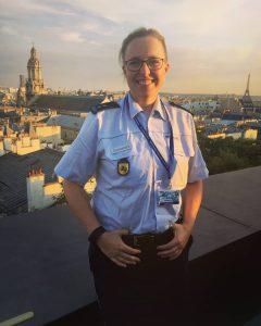 1.000 km für einen guten Zweck: Polizistin möchte 25.000 Euro für krebskranke Kinder erlaufen