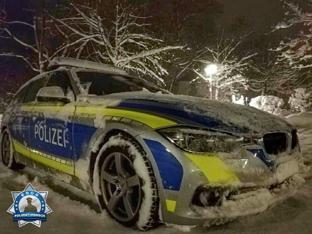 """""""Verschneite Grüße von der A-Schicht eines südlichen Münchner Reviers"""""""