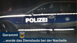 """""""Man sieht sich immer zweimal"""": Autofahrer rammt bei Verfolgungsfahrt mehrfach Streifenwagen - Drei Tage später kann er gefasst werden"""
