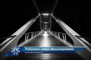 Schnelle Reaktion: Polizisten retten Menschenleben