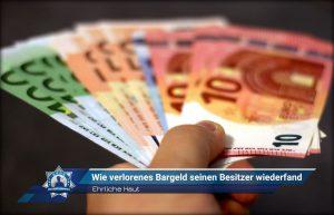Ehrliche Haut: Wie verlorenes Bargeld seinen Besitzer wiederfand
