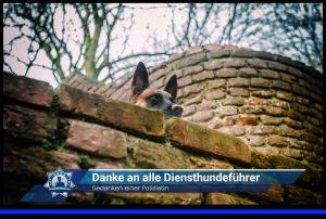 Gedanken einer Polizistin: Danke an alle Diensthundeführer