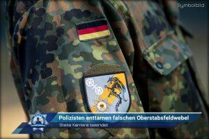 Steile Karriere beendet: Polizisten enttarnen falschen Oberstabsfeldwebel