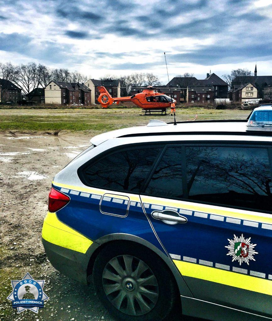 """""""Landehilfe für die Feuerwehr, Grüße aus dem Duisburger Norden"""""""