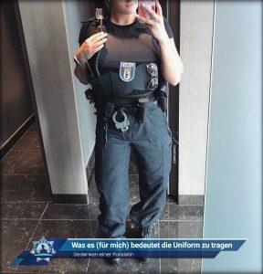 Gedanken einer Polizistin: Was es (für mich) bedeutet die Uniform zu tragen