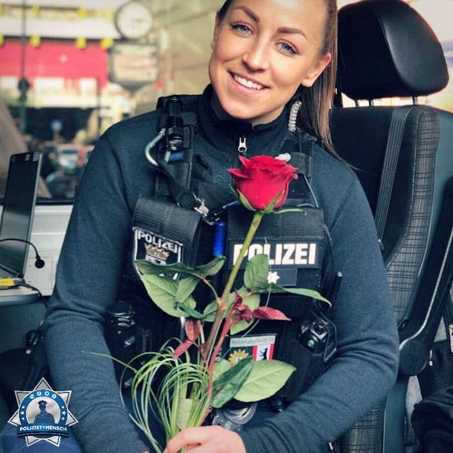Meine Kollegen zeigten mir zum Valentinstag, warum ich eine so tolle Polizeifamilie habe