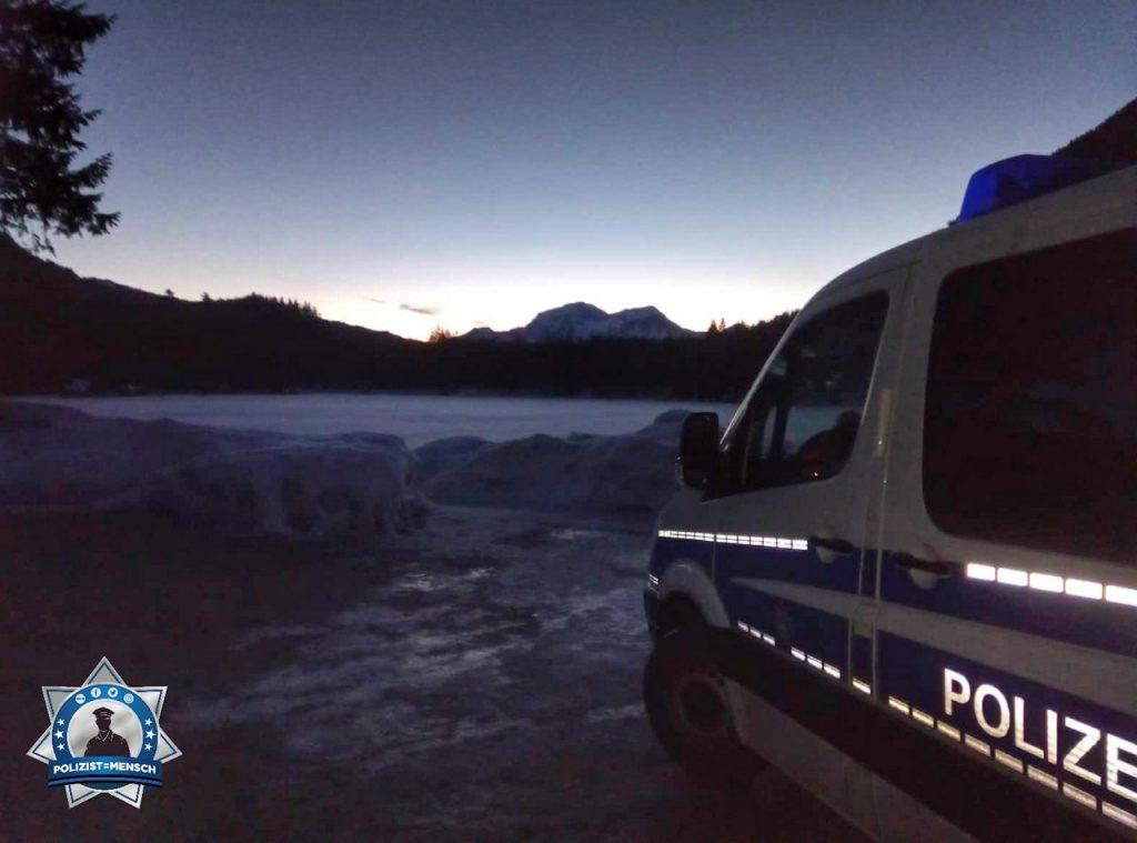 """""""Guten Morgen vom Hintersee bei Berchtesgaden! Basti von der Bundespolizei 😉"""""""