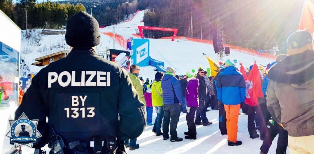 Gruß vom Skiweltcup in Garmisch