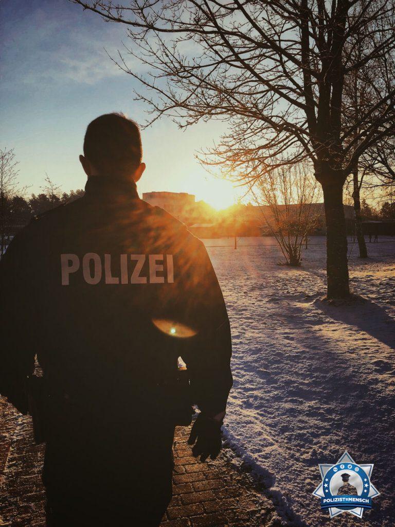 """""""Winterliche Grüße vom Einstellungsjahrgang 2018 aus dem LAFP Stukenbrock! Marius"""""""
