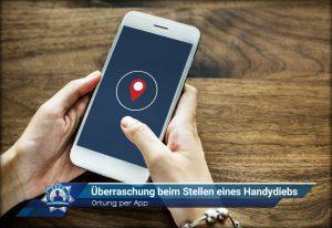 Ortung per App: Überraschung beim Stellen eines Handydiebs
