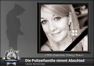 Letzte Dienstreise: Die Polizeifamilie nimmt Abschied