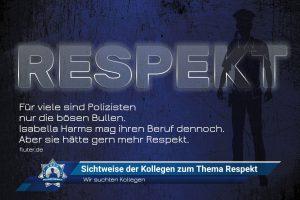 Wir suchten Kollegen: Sichtweise der Kollegen zum Thema Respekt