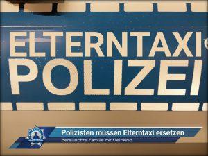 Berauschte Familie mit Kleinkind: Polizisten müssen Elterntaxi ersetzen