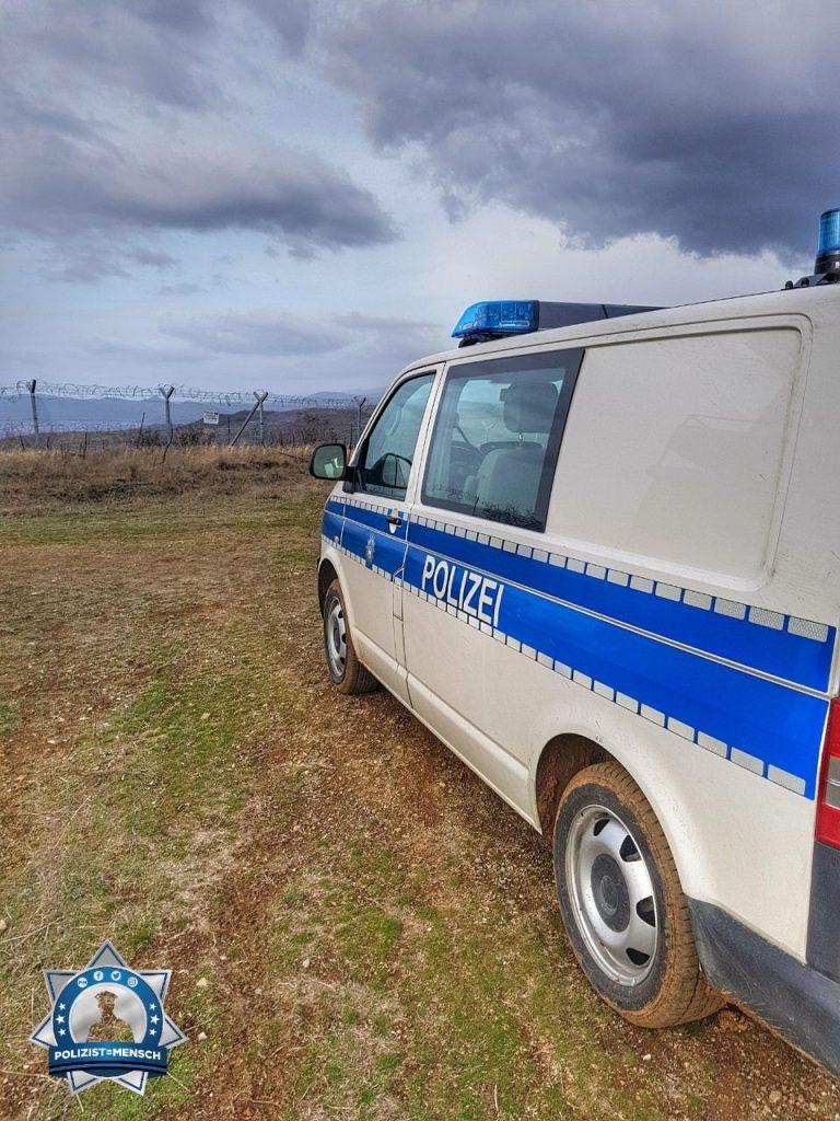 """""""Liebe Grüße von der Grünen Grenze in Griechenland. Die Funktion hier nennt sich Border Surveillance Officer (BSO)."""""""