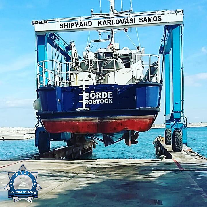 """""""Moin  Grüße von Lutz auf Samos von der Frontex Mission Joint Operation Poseidon"""""""
