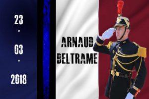 In Memoriam: Heute vor einem Jahr wurde Arnaud Beltrame als eingetauschte Geisel vom Geiselnehmer erschossen