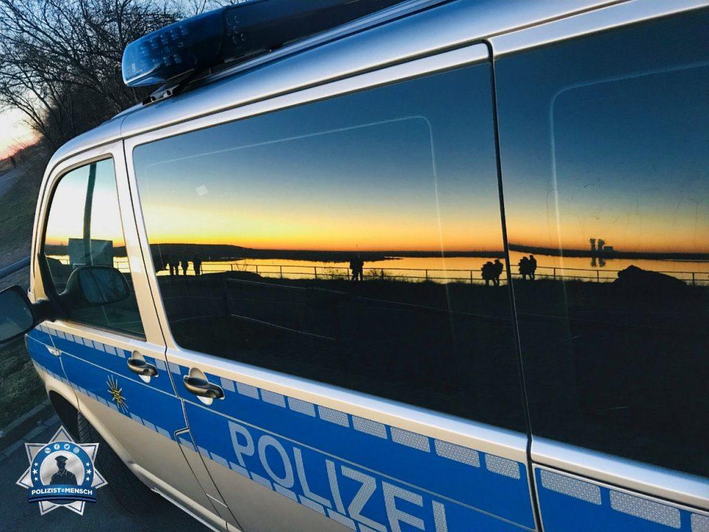 """""""Liebe Grüße aus der Spätschicht senden Annegret und Uwe aus Leipzig 😉 Für ein paar Minuten konnten wir schnell zwischen den Einsätzen mal den unglaublichen Sonnenuntergang genießen!"""""""
