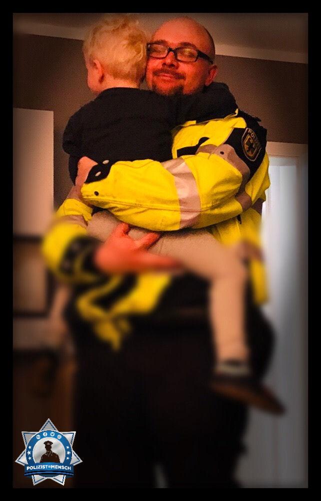 Weltglückstag: Wenn Papa und Sohn sich nach der Schicht aufeinander freuen