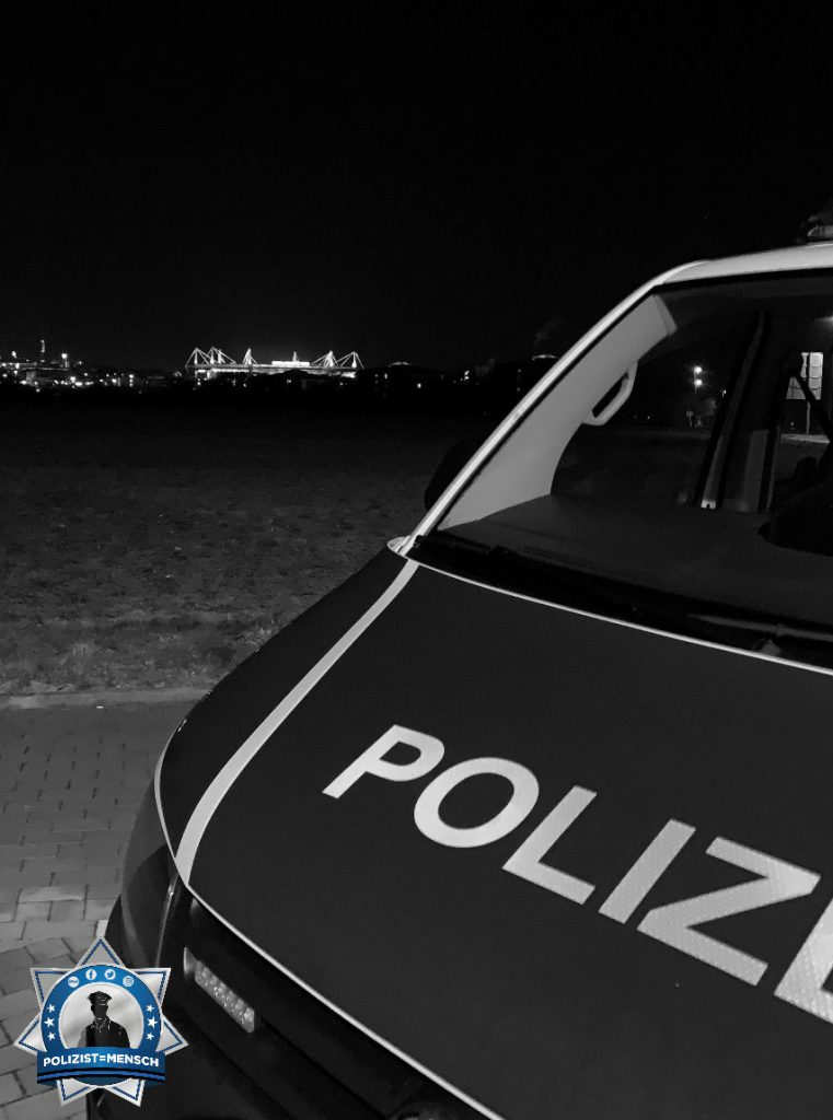 """""""Grüße aus der Nachtschicht der Bundespolizei in Dortmund! Kirsche"""""""